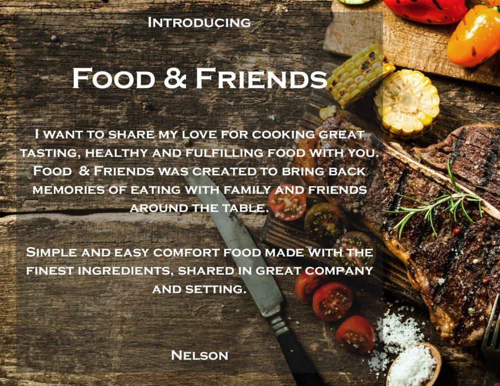 Food & Friends Website